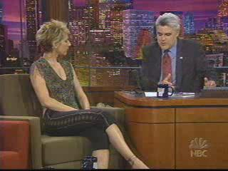 Celine on Jay Leno 2