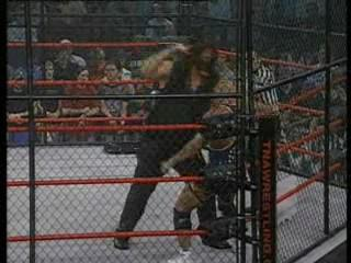 Abyss vs. Kurt angel
