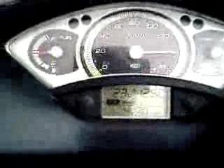My X Max reach 150km/h