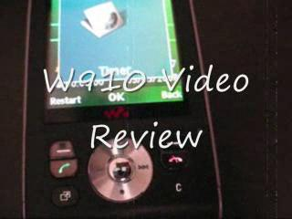 W910 Video Review