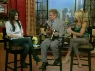 Selena gomez-Regis and kelly