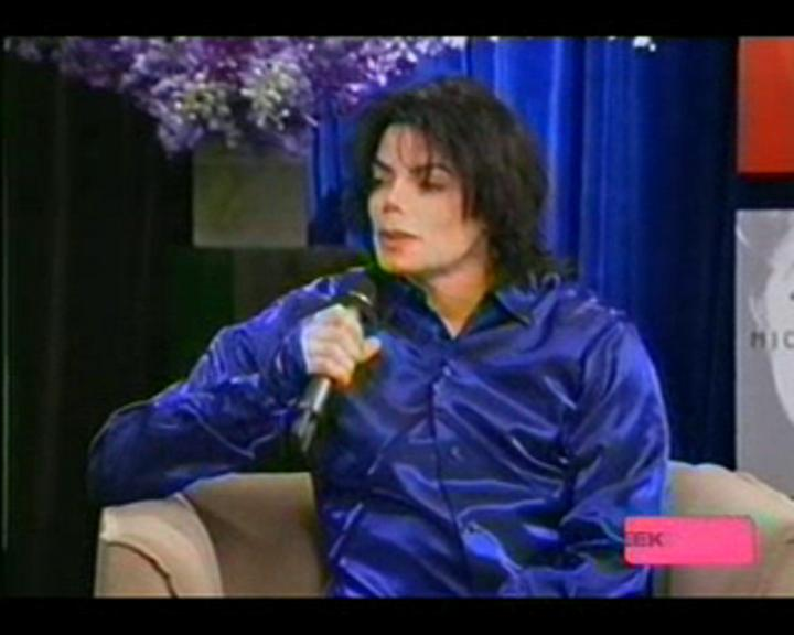 Michael Jackson in MTV's TRL