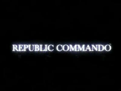 Republic commando -טריילר