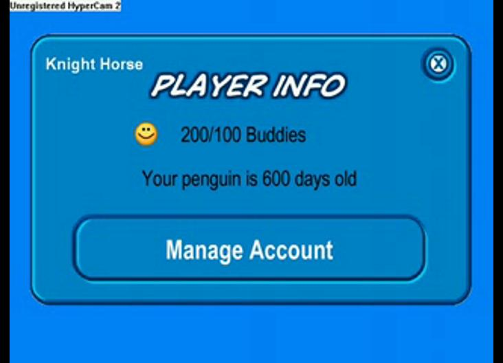 Club Penguin - Day 600 Penguin