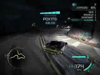 NFS Carbon CanyonDrift WorldRe