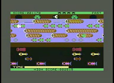 Commodore 64 - Frogger