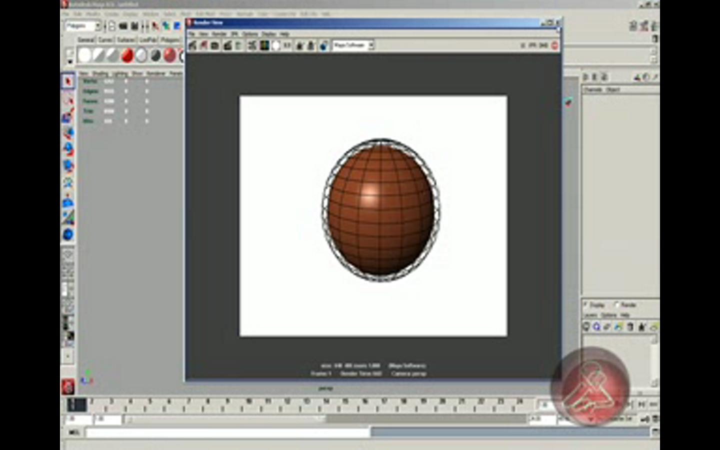 render wirefram in maya.heb.