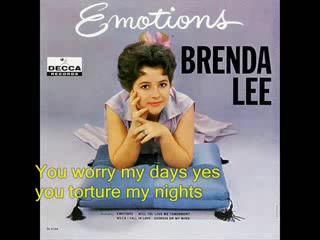 Brenda Lee - Emotions ( with l