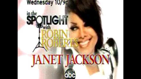 Janet Jackson In the spotlight