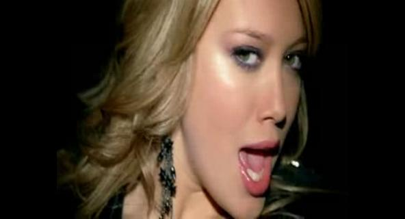 Hilary duff-Our lips are seale