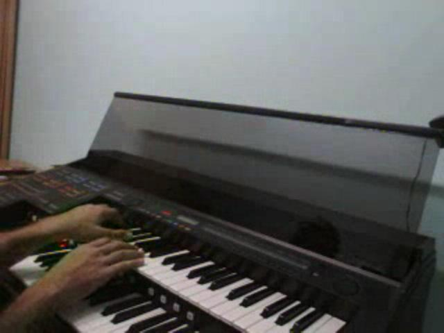 The Scientist on piano