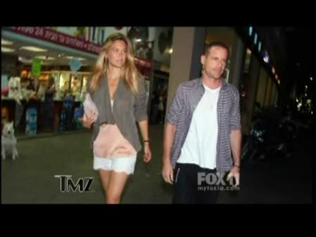 Bar Refaeli Hangs Out in Israel