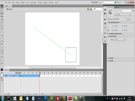 Adobe Flash CS5 - Motion Tween - אובייקט תנועתי
