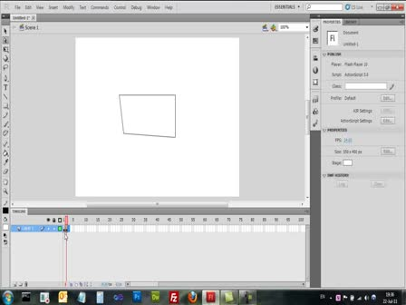 Adobe Flash CS5 - Frames - שקופיות
