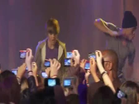 {Justin bieber-One time{Live