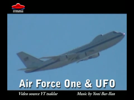 Air Force One and UFO