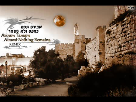 אבירם תמם כמעט ולא נשאר רמיקס | Aviram Tamam Almost Nothing Remains Remix