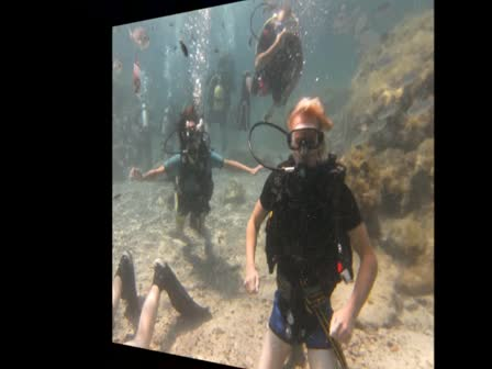 DIVING IN GREEN BAY AGIA NAPA WITH VIKING DIVERS CENTER LARNACA CYPRUS,