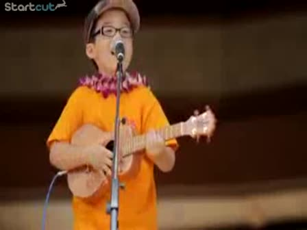 8 year old covers Train, ...