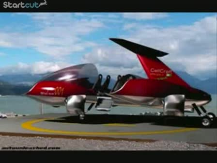 Flying Cars From 2050