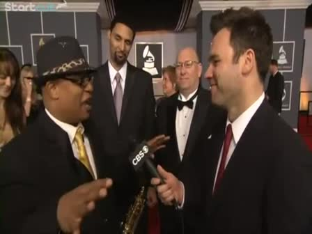 SKI JOHNSON INTERVIEW WITH CBS AT THE 54TH GRAMMY