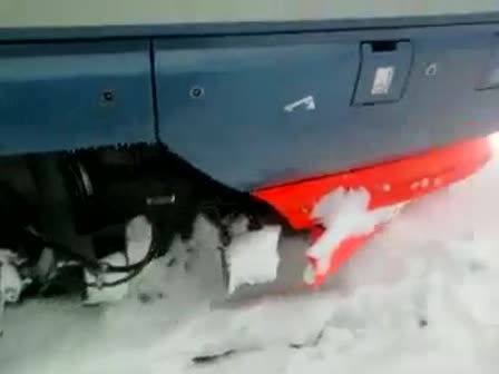 Train in Russian winter (T?g p? ryska vintern)