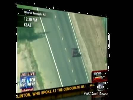 Fox News Car Chase Ends in Suicide- Anchor Shepard