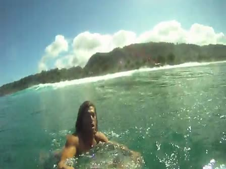 GoPro HD Kalani Robbs surfer lifestyle in Hawaii