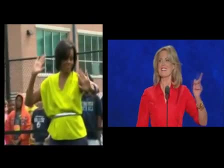 Michelle Obama Feat. Ann Romney - Move Your Butt (Just Like