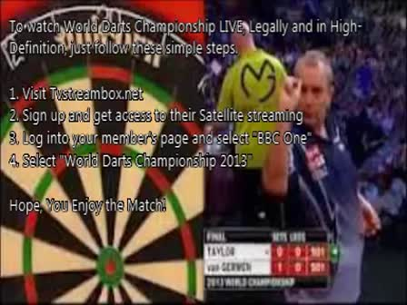 BDO World Darts Championship - Round 1 - Live from Lakeside Country Club