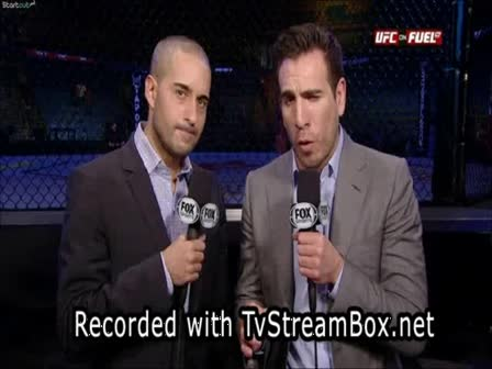 Renan Barao VS McDonald - UFC on FUEL TV - Live from Wembley Arena, London, United Kingdom