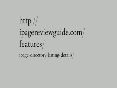 IPage directory listing