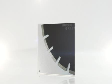 Green concrete blades