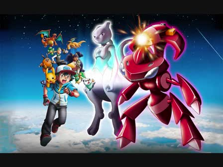 Pokemon Movie16 - Mewtwo VS the Red Genesect