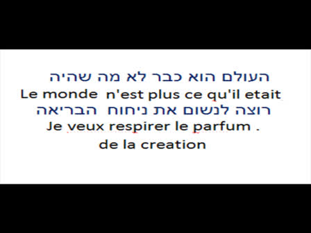כמו בבריאה COMME A LA CREATION -FELIX ABENHAIM פליקס אבן חיים