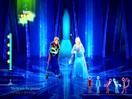 Just Dance 2015 - Disney's Frozen - Let It Go ?